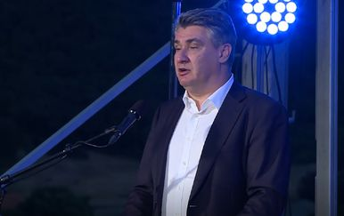 Zoran Milanović u Kninu
