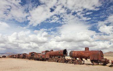 Groblje vlakova, Uyuni, Bolivija - 2