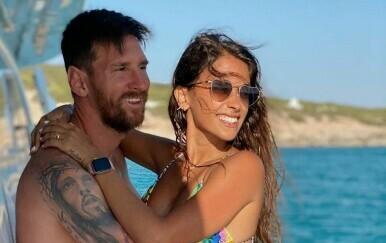 Antonela Roccuzzo i Lionel Messi - 1