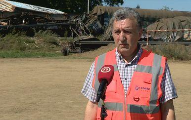 Savas Huseynoglu, očevidac željezničke nesreće kod Križevaca