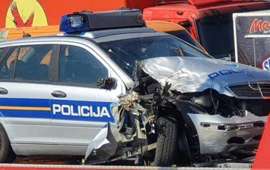Prometna nesreća na Šolti