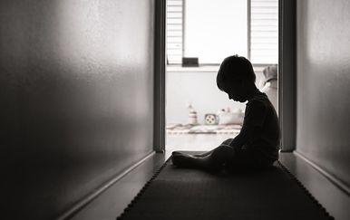 Zlostavljanje djece, ilustracija