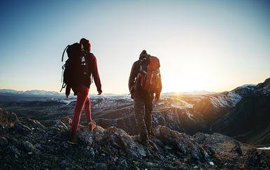Planinari, ilustracija