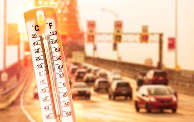 Globalno zatopljenje, ilustracija