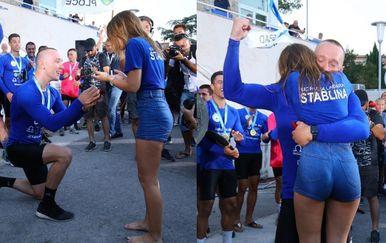 Zaprosio djevojku nakon Maratona lađa - 2