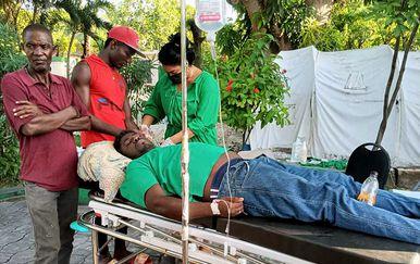 Spašavanje nakon potresa na Haitiju