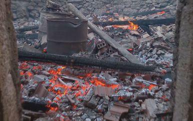 Požar nedaleko Sinja - 1