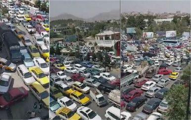 Gužve na cestama u Kabulu