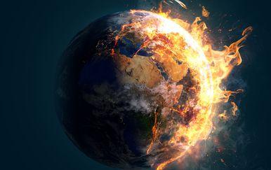Svijet gori, ilustracija