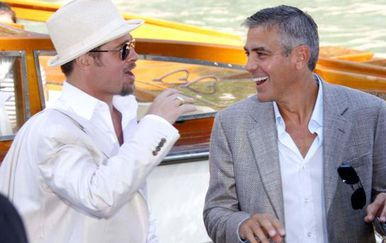 Brad Pitt i George Clooney - 7