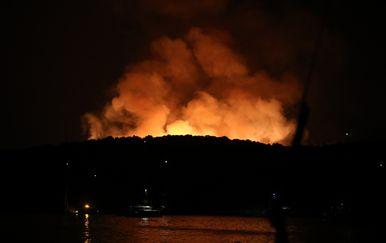 Požar na Hvaru