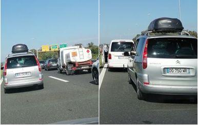 Prometna nesreća na istoku Zagreba - 1