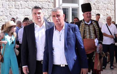 Miro Bulj i Zoran Milanović u Sinju