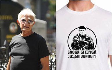 Kapetan Dragan dijelit će majicu s likom ubojice