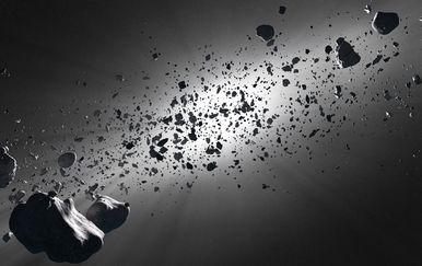 Asteroidi, ilustracija