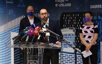 Tomislav Tomašević i zamjenici