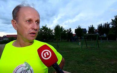 Darko Karamazan, predsjednik Udruge za zaštitu životinja Zmijolovac