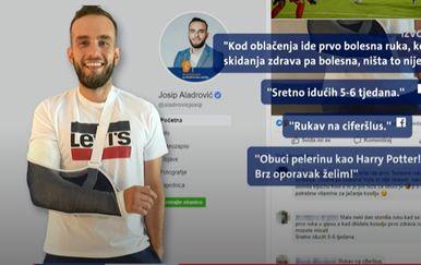Ministar Aladrović slomio lakat