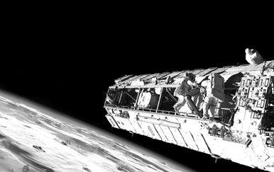 Privatna svemirska postaja, ilustracija