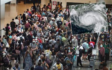 Bježanje pred uraganom Ida