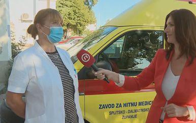 Sanja Validžić iz Nastavnog zavoda za javno zdravstvo Splitsko-dalmatinske županije i Sofija Preljvukić