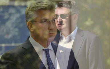 Andrej Plenković i ZoranMilanović