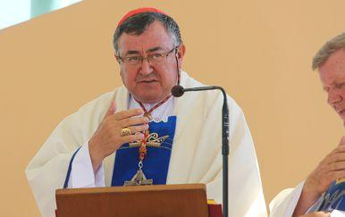 Kardinal Vinko Puljić (Foto: Marko Mrkonjic/PIXSELL)