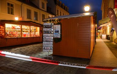 Evakuiran Božićni sajam u Potsdamu (Foto: AFP)