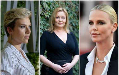 Scarlett Johansson, Ksenija Marinković, Charlize Theron (FOTO: Getty, Pixsell)