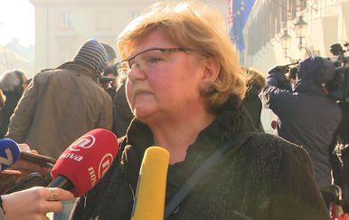 Ministrica za demografiju Nada Murganić (Foto: Dnevnik.hr)