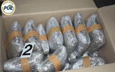 U kamionima skrivao 78 kilograma marihuane (Foto: PUZ)