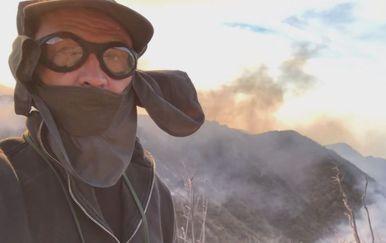 Mislav Želle, reporter Nove TV, iz požarom opustošene Kalifornije (Foto: Dnevnik.hr) - 2