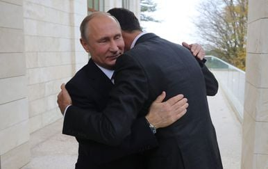 Vladimir Putin i Bašar al-Asad, arhiva (Foto: AFP)