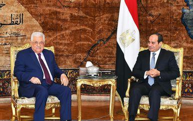 mahmud Abas s egipatskim predsjednikom Sisijem (Foto: AFP)