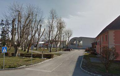 Zgrada škole i školske dvorane u Goli (Foto: screenshot Google Maps)