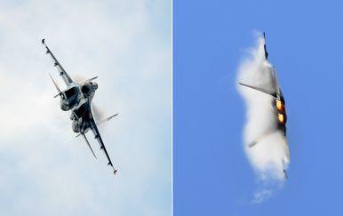 Su-35 i F-22 (Foto: Arhiva/AFP)