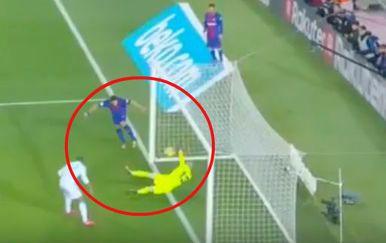 Poništen gol Luisa Suareza (Screenshot)