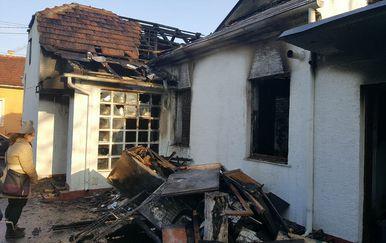 Izgorjela kuća (Dnevnik.hr)