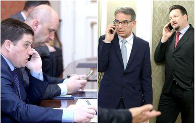 Ministri s mobitelima (Foto: Arhiva/Patrik Macek/Pixsell)