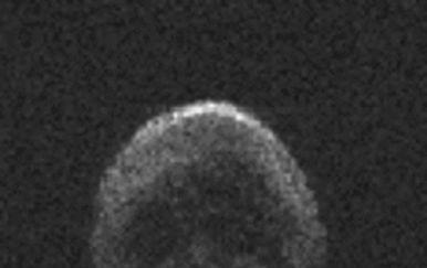 Asteroid u obliku lubanje dobio je nadimak Halloween asteroid (Foto: NAIC-Arecibo/NSF)
