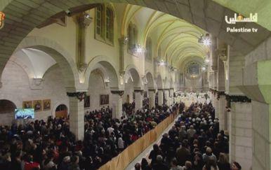 Božićno slavlje u Betlehemu (Foto: Dnevnik.hr)