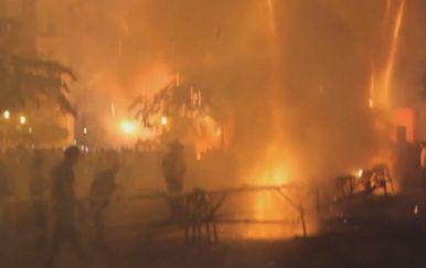 Vatromet na Kubi pošao po zlu (Screenshot APTN)