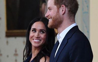 Meghan Markle i princ Harry (Foto: AFP)