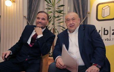 Ante Nobilo i Čedo Prodanović (Foto: Tomislav Miletic/PIXSEL)