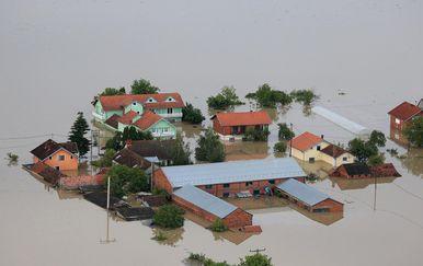 Poplava u Gunji, arhiva (Foto: Davor Javorovic/PIXSELL)