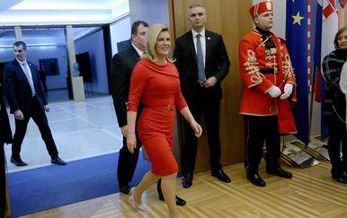 Predsjednica Kolinda Grabar-Kitarović (Foto: Dalibor Urukalovic/PIXSELL)
