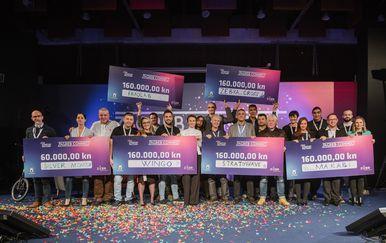 Nagrađeni startupovi na Zagreb Connectu (Foto: ZICER)