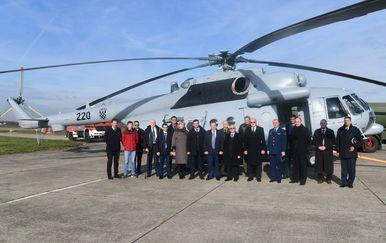Prvi helikopter Mi-171Sh stigao s remonta u ZTC (Foto: MORH/T.Brandt)