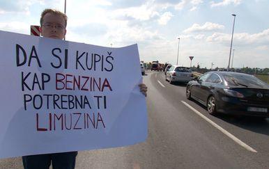 Prosvjedi zbog cijena goriva (Video: Dnevnik Nove TV) - 3