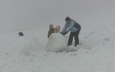 Snježne radosti u Platku (Foto: Dnevnik.hr) - 2